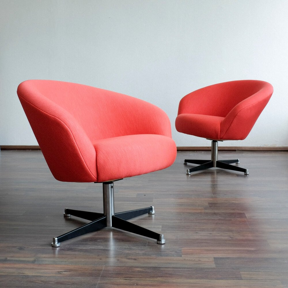 Chair Sessel Pair Of Sessel Capitol Lounge Chairs By Veb Deutsche Werkstätten Hellerau 1960s