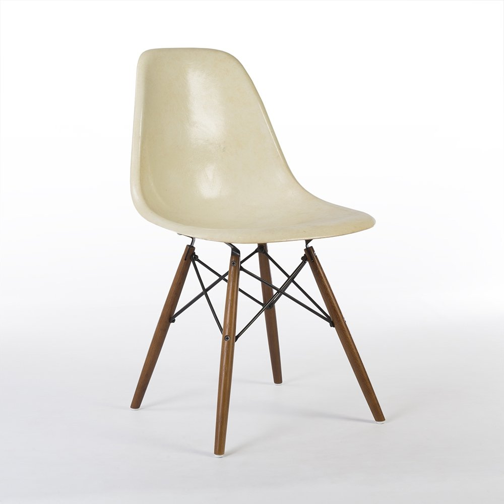 Dsw Eames Stuhl Parchment Herman Miller Original Eames Dsw Dining Side Chair | #112363