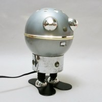 Robot desk lamp by Satco, 1970s | #46852