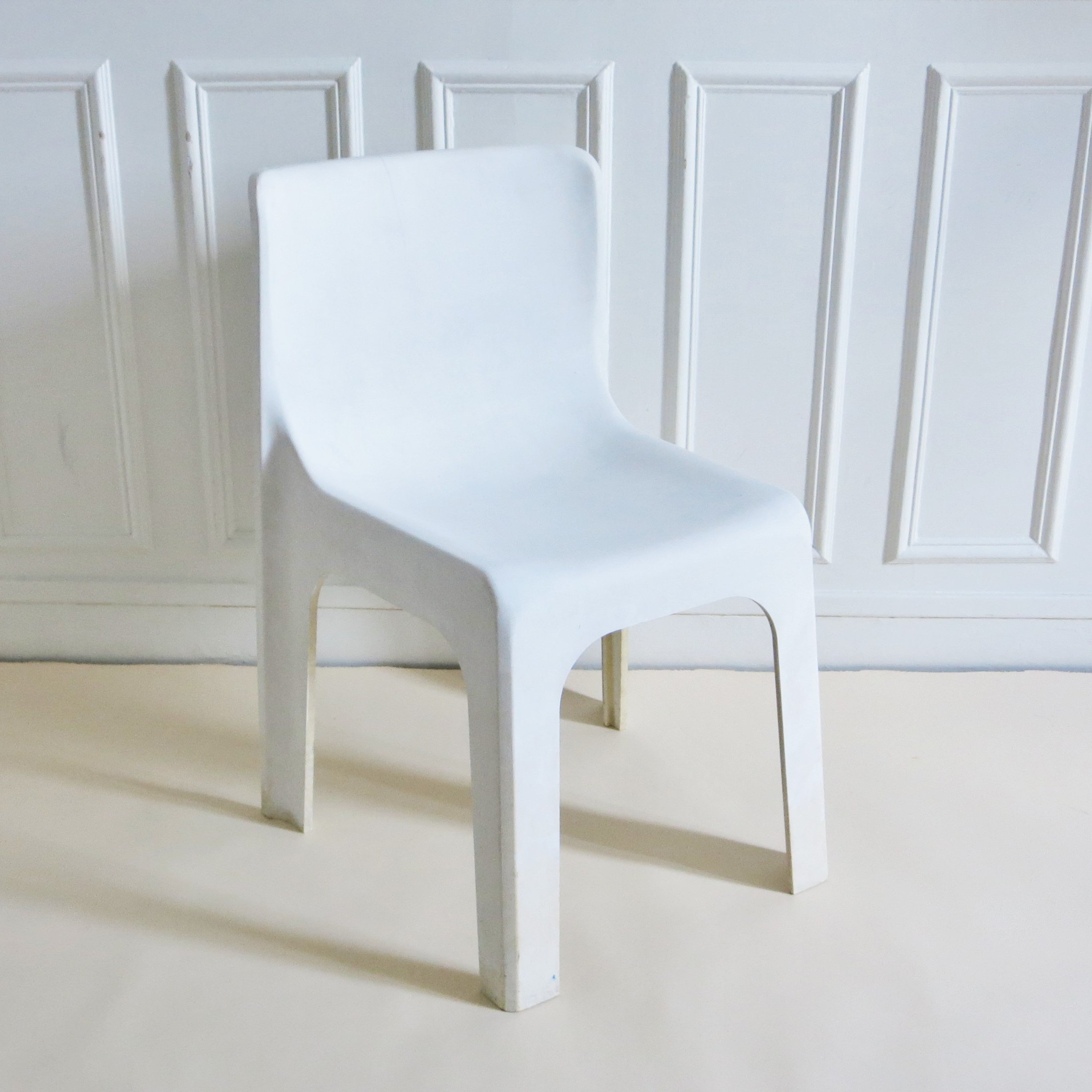 Mobilier France Ligne France Dining Chair By Étienne Fermigier For Mobilier De France 1970s