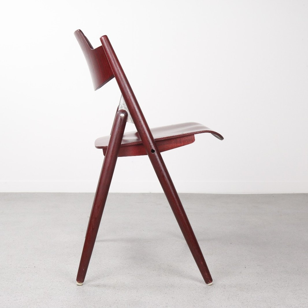 Egon Eiermann 3 X Se18 Dining Chair By Egon Eiermann For Wilde Und Spieth 1950s