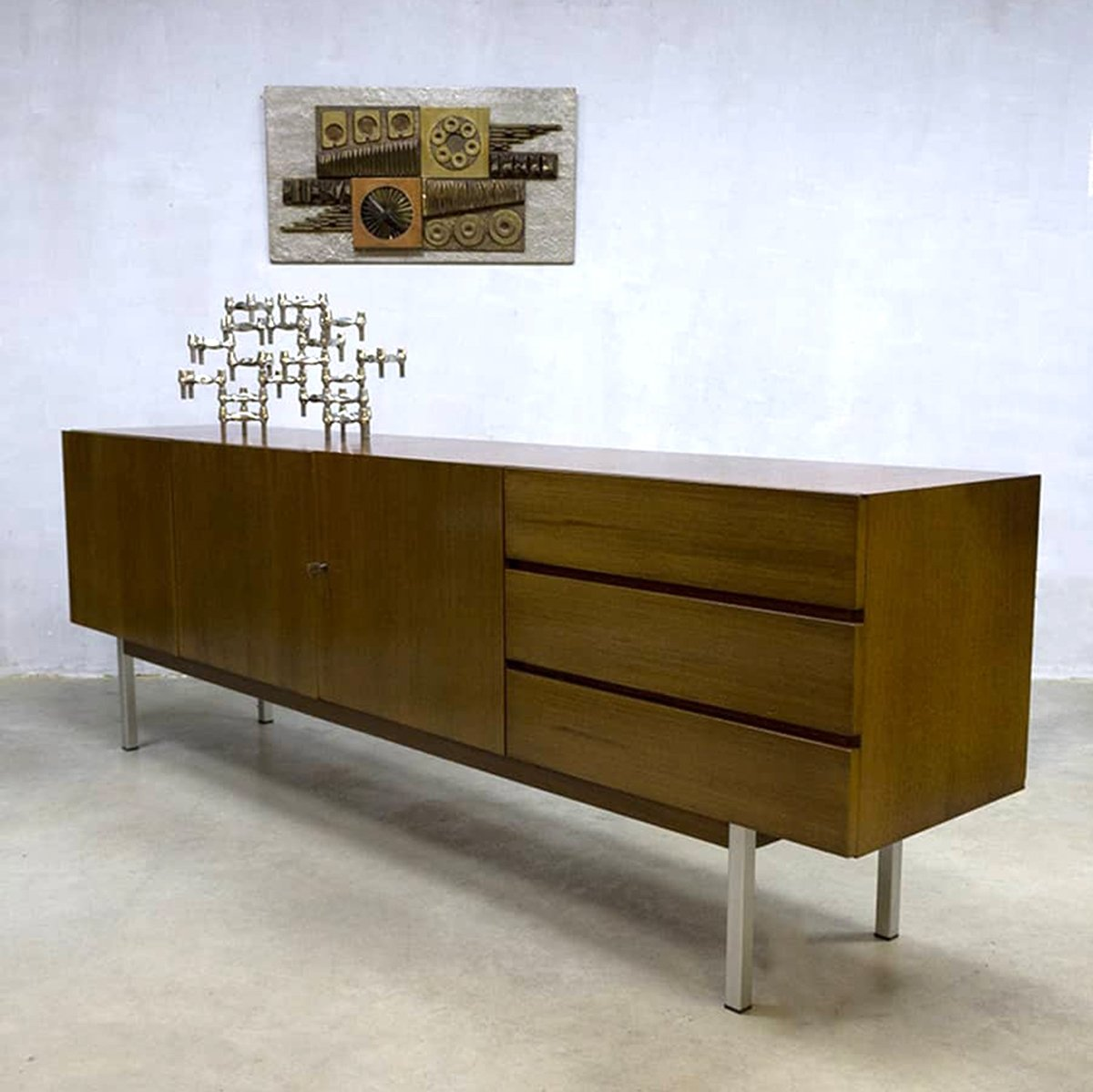 Cnouch Sideboard Musterring With Musterring Trendy Teak Sideboard Shelf Hybrid By