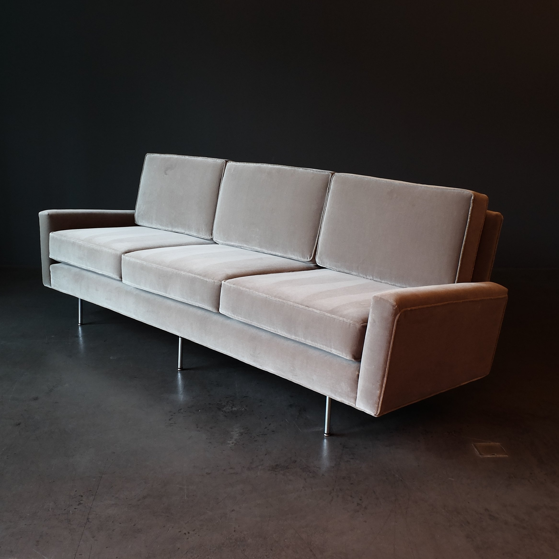 Florence Knoll Sessel 3 Seater Florence Knoll Sofa 1960s