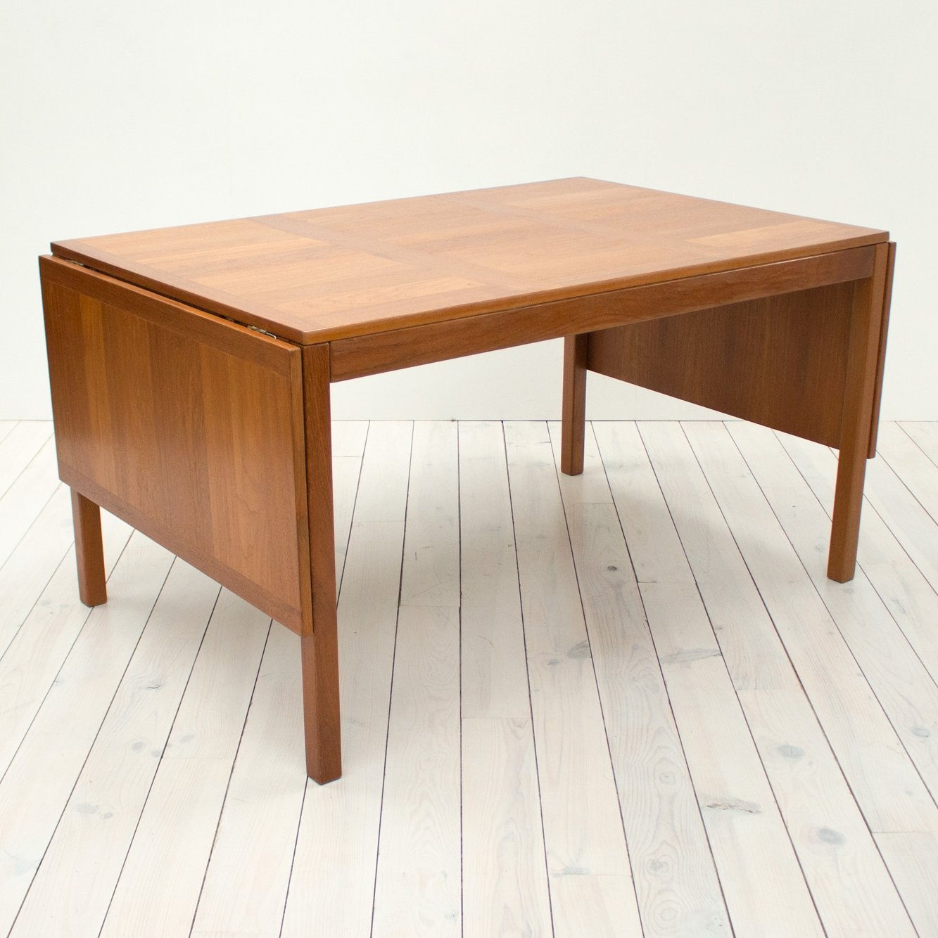 Extending Dining Table Danish Teak Extending Dining Table By Vejle Stole