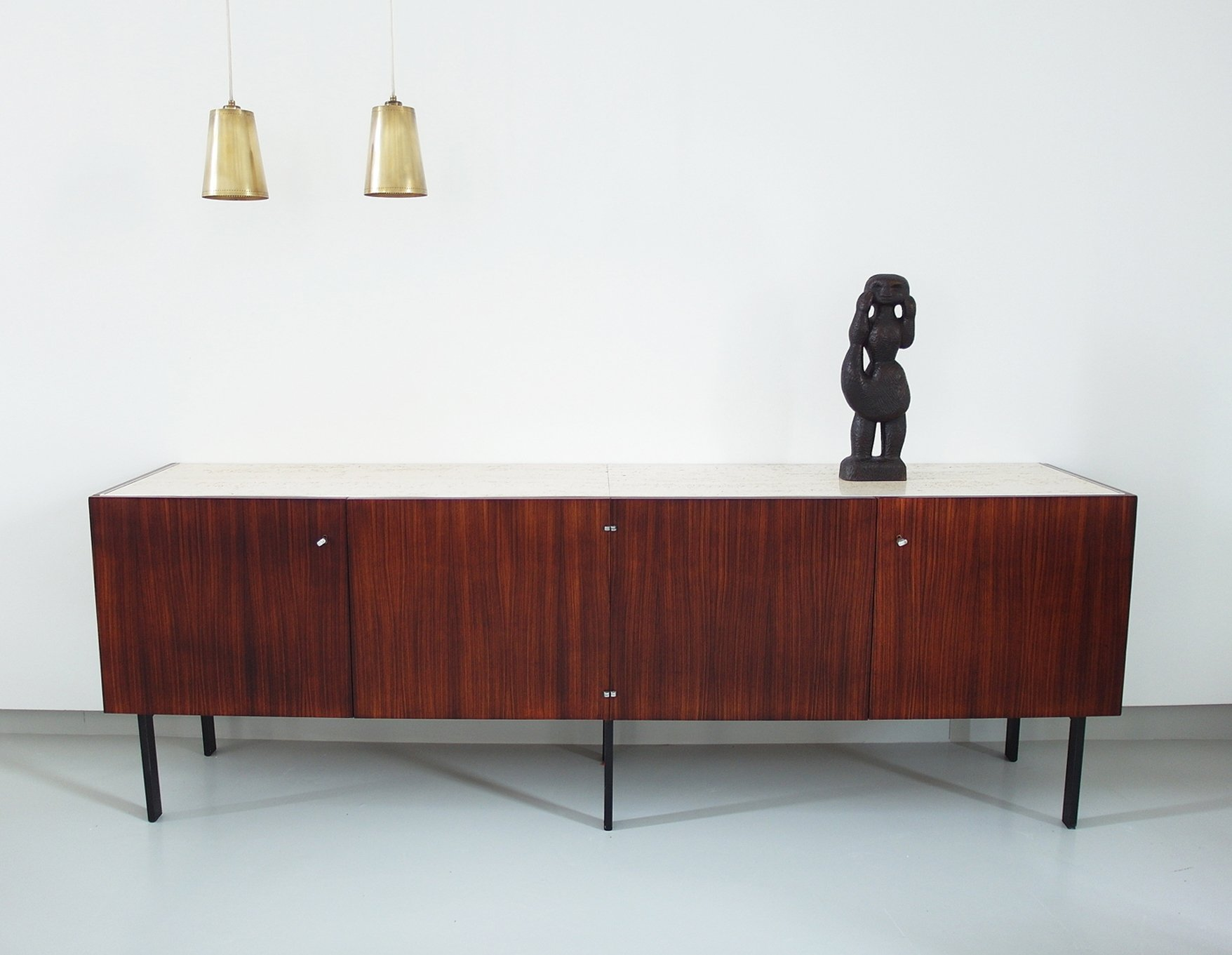 Fonction Meuble Minimalist French Sideboard By Meubles Et Fonction In Rosewood