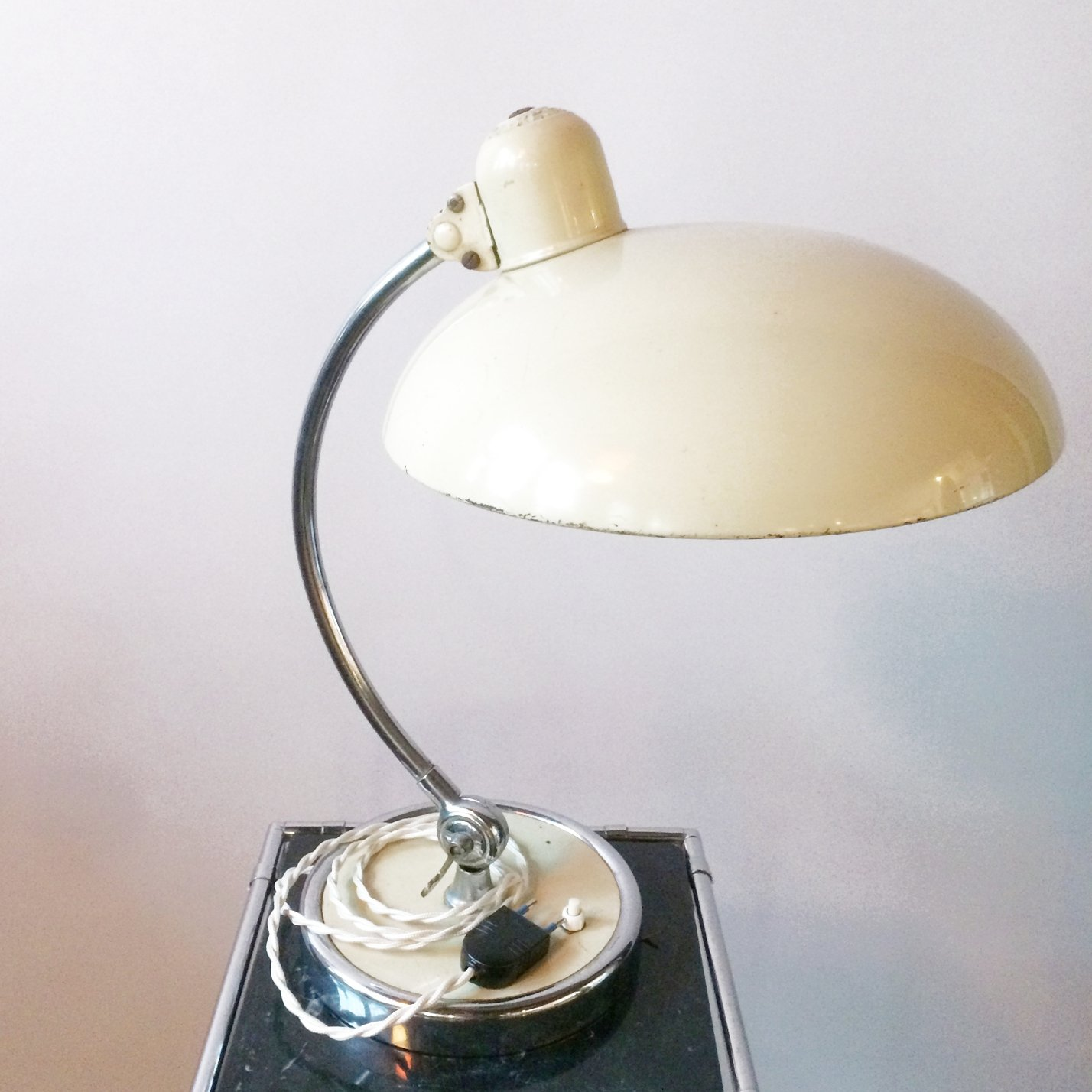 Leuchten Kaiser President 663 Desk Lamp By Christian Dell For Kaiser Leuchten, 1940s | #94490