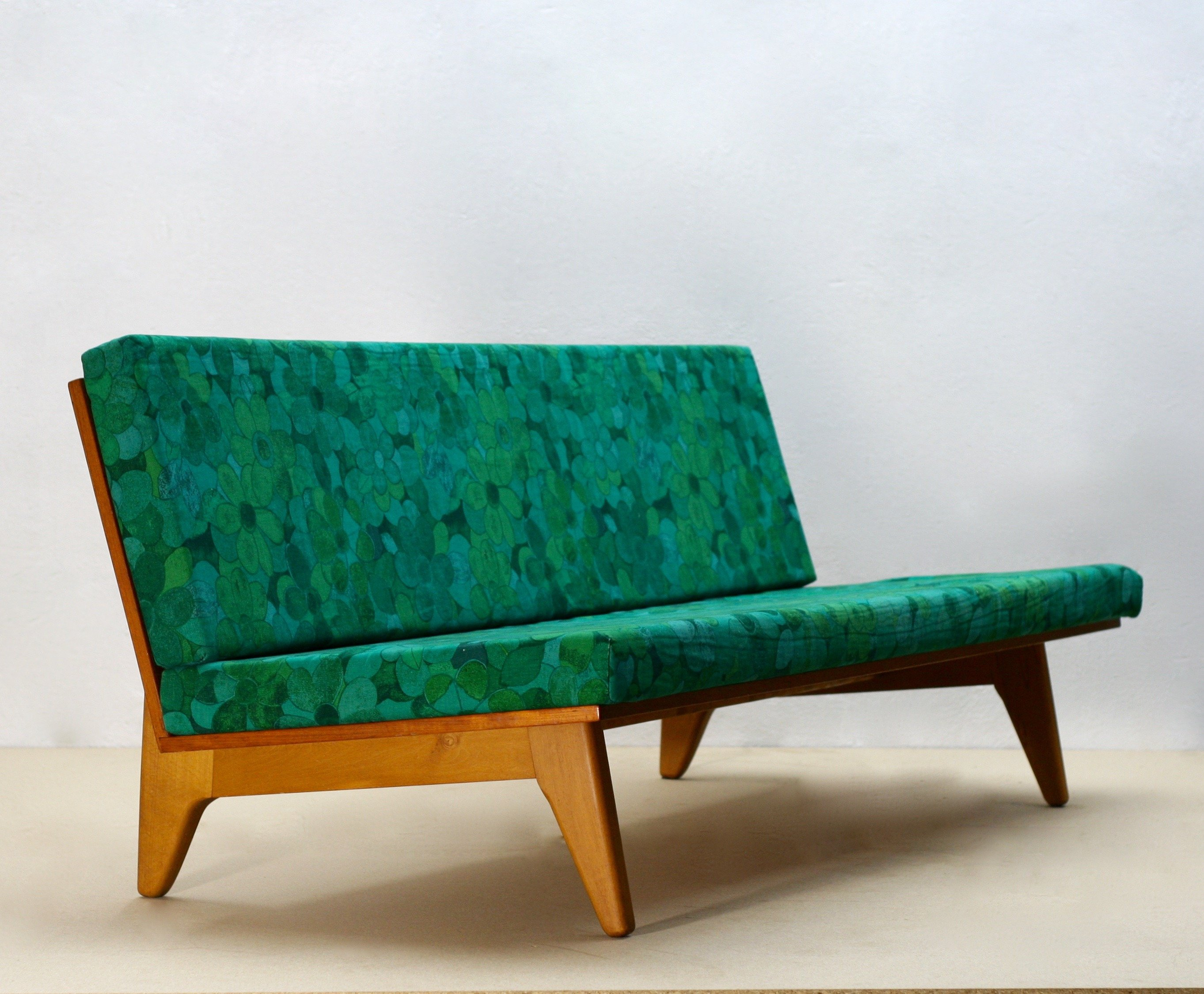 Swedish Mid Century Furniture Mid Century Swedish Teak Sofa Or Daybed By Gustaf Hiort Af Ornäs