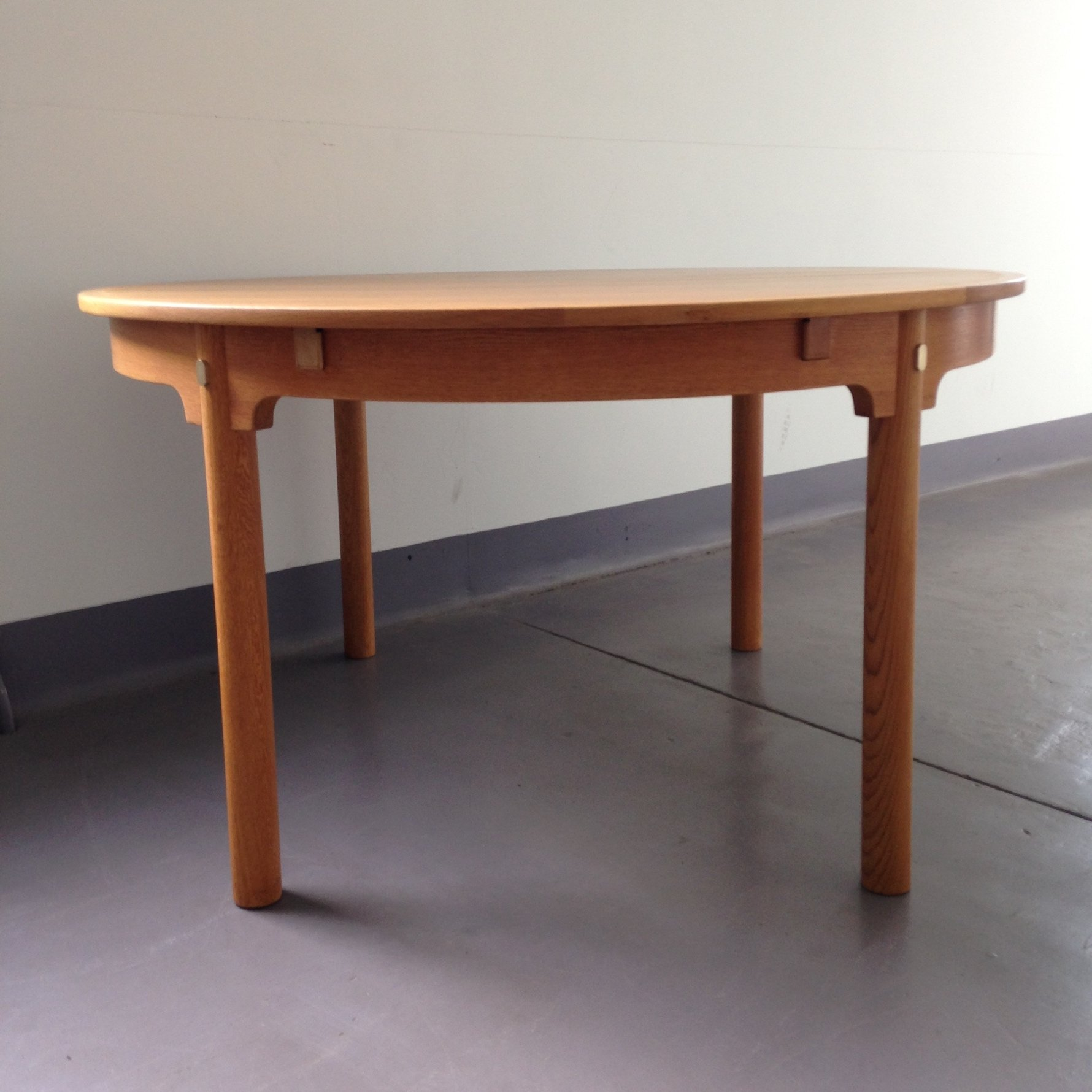 Extending Oak Table Borge Mogensen Round Oak Oresund Extending Dining Table By Karl Andersson Soner