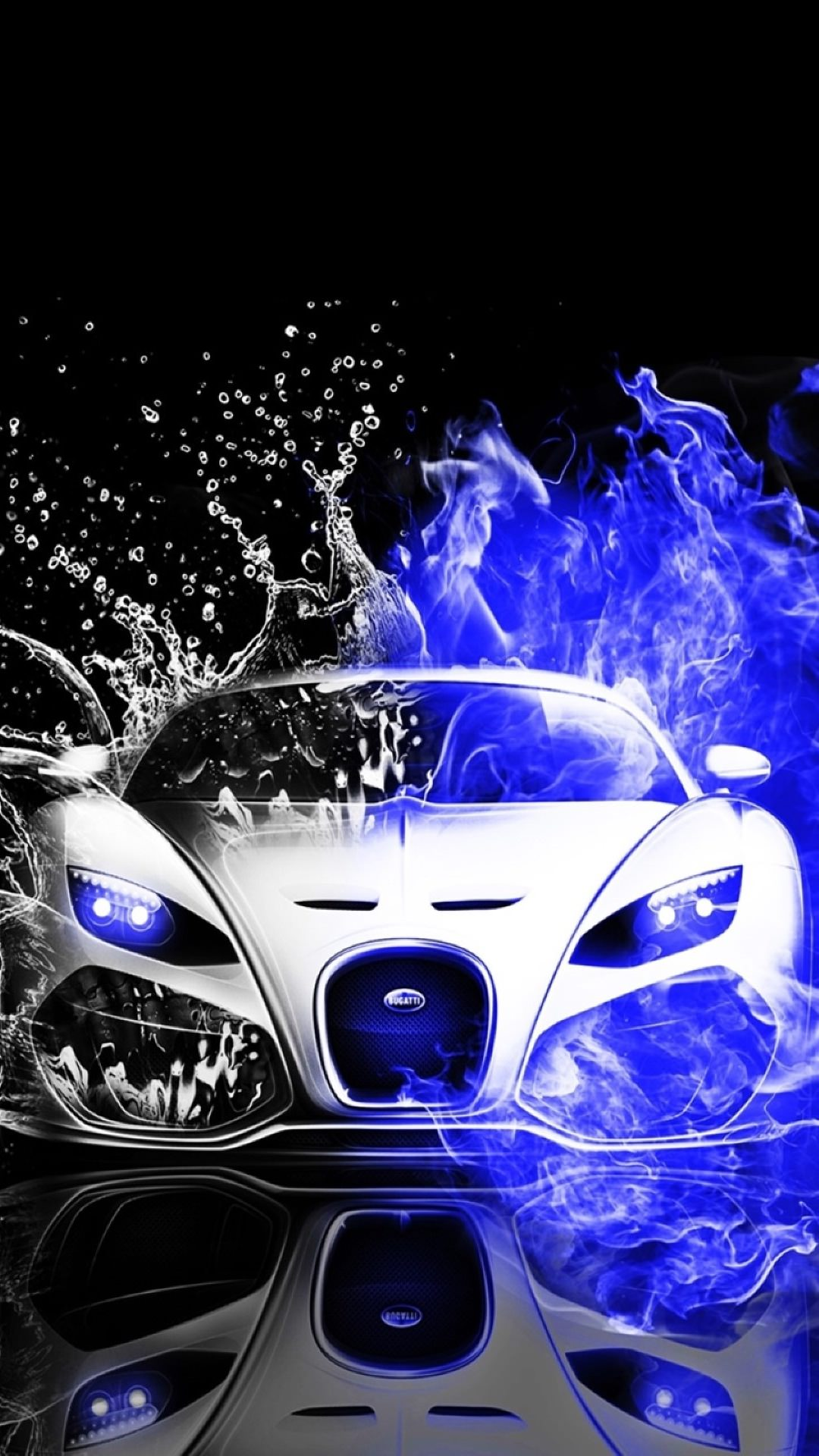 Wallpaper Iphone Black And White Cool Cars Blue Water Black And White Wallpaper Sc Smartphone