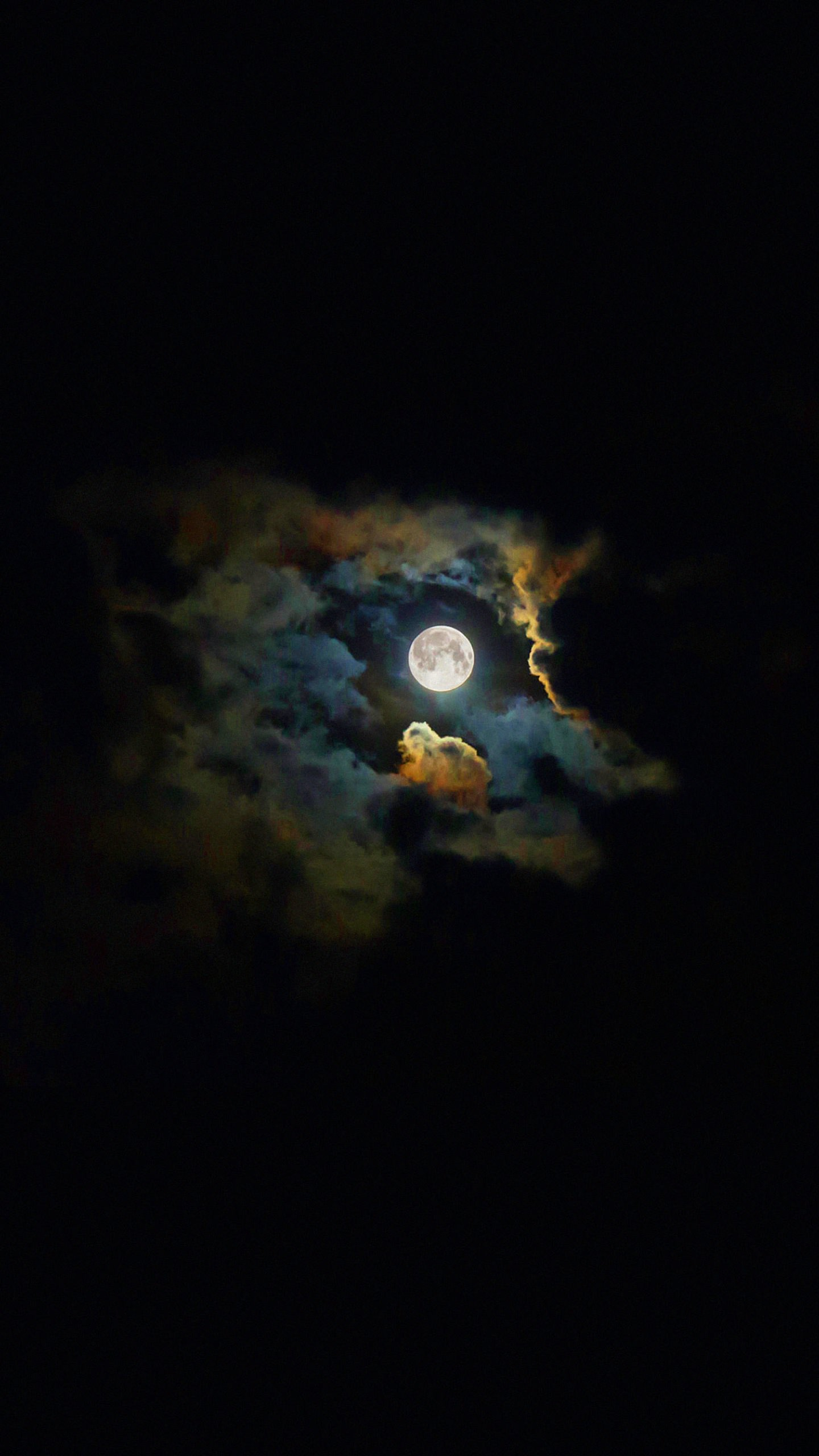 Red White And Blue Car Wallpaper Iphone Landscape Moon Shiny Black Wallpaper Sc Smartphone
