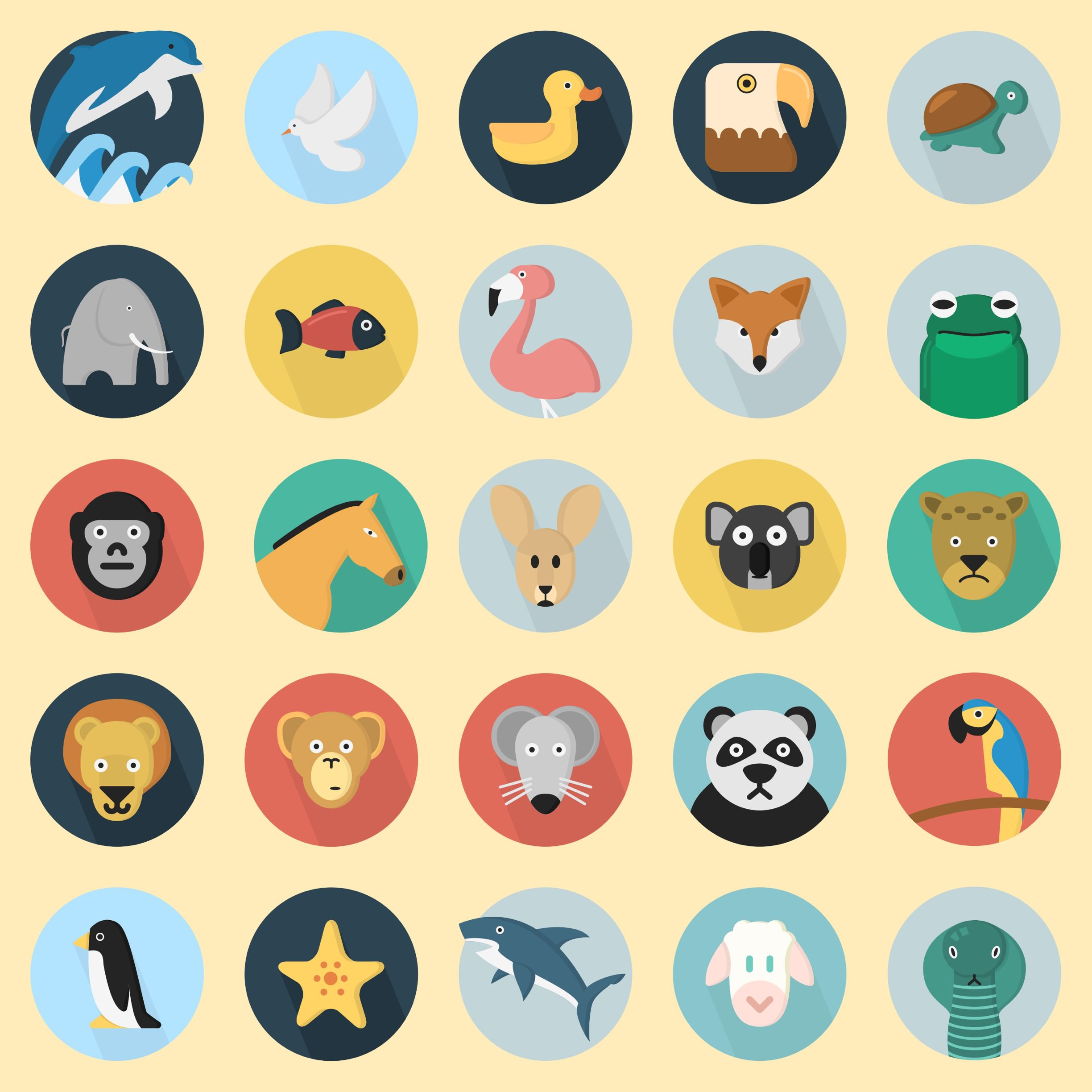 Free Iphone Wallpapers Cute 動物 イラスト