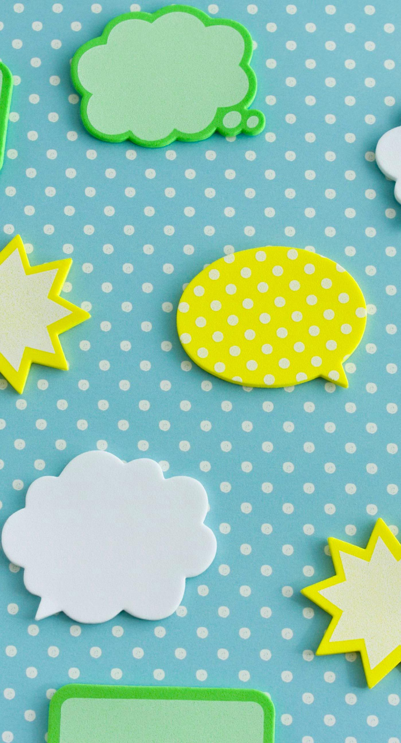 Cute Pineapple Iphone Wallpaper Yellow Green And Blue Balloon Cute Illustrations