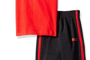 STX Boys' 2 Piece T-Shirt and Fleece Pant