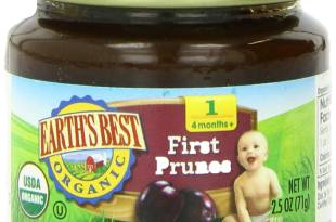 Earth's Best Organic Stage 1, Prunes x 12 pack