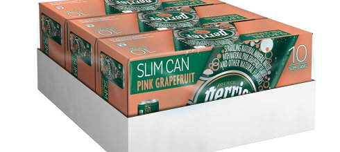 Perrier Sparkling Natural Mineral Water, Pink Grapefruit, 8.45 Ounce (Pack of 30)