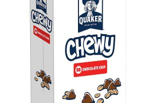 Quaker Chewy Granola Bars, Chocolate Chip, 58 Count