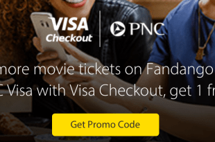 PNC Visa Cardholders: Fandango Movie Tickets