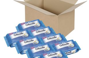 Cottonelle FreshCare Flushable Cleansing Cloths, 336 Wipes