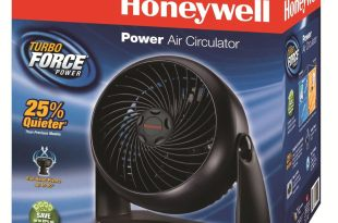 Kaz Honeywell HT-904 Tabletop Air-Circulator Fan, White