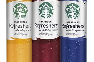Starbucks Refreshers, 3 Flavor Variety Pack, 12 Pack, 12 oz Slim Cans