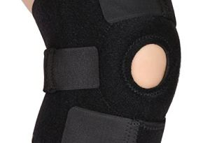 Liomor Knee Support Adjustable Open Patella Knee Brace