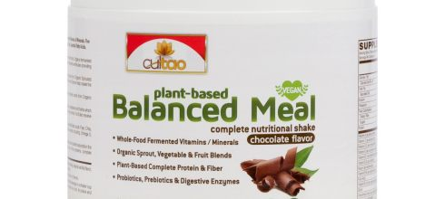 Premium Plant-Based Protein Balanced Meal Replacement Shakes - Fermented Whole-Food, Organic Vegetables, Herbs, Super Fruits, Fiber, Omegas
