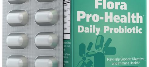 Probiotics 30 Billion Per Capsule; Flora Pro-Health by Naturenetics - 30 Day Supply - Vegan - 3rd Party Tested - No Refrigeration Required