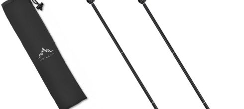Himal 1 PCS Folding Collapsible Travel Hiking Walking Stick Trekking Pole with EVA Foam Handle
