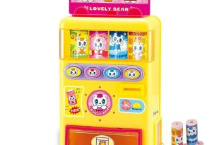 Mallya Talking Beverage Vending Machine Funny Kid Prentend Game Toys