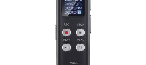 Voice Recorder Evistr 8GB Digital Audio Sound Recorder Dictaphone, Voice Activated Recorder