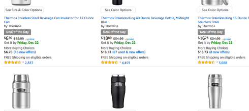 Save 30% or More on Thermos Products