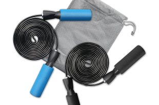 Datechip Adjustable Steel Jump Rope Crossfit