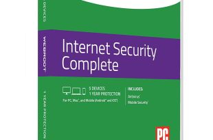 Webroot Internet Security Complete Antivirus