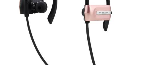 Rymemo Bluetooth Headset Headphones Rymemo Sweatproof Wireless Bluetooth Earphones In-Ear Earbuds