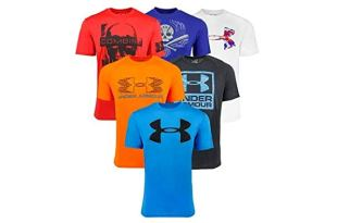 Under Armour Fitness T-Shirt x 3 入 $29.99 起跳