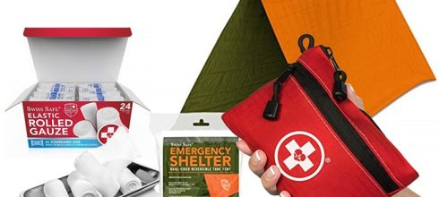 Swiss Safe Emergency Supplies $6.99 起跳