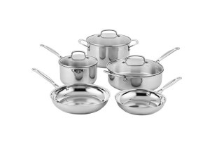 Cuisinart Classic Stainless Cookware Set (8-Pieces) $69.99