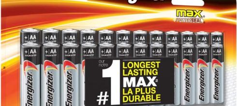 Energizer AA or AAA Triple A 電池 x 24 入 $9.99