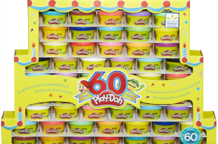 60-Pk Play-Doh 60th Anniversary x 60 入 $14.99