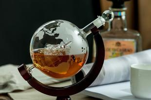 Whiskey Globe Decanter $19.99