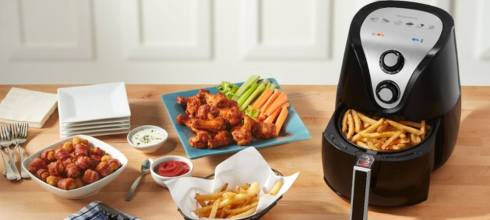Insignia™ - Analog Air Fryer 3.4 QT 氣炸鍋 $27.99