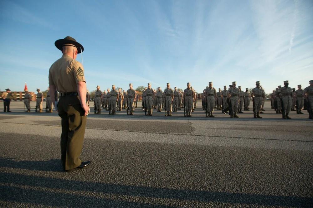Marine recruit needed skin grafts to treat chemical burns suffered