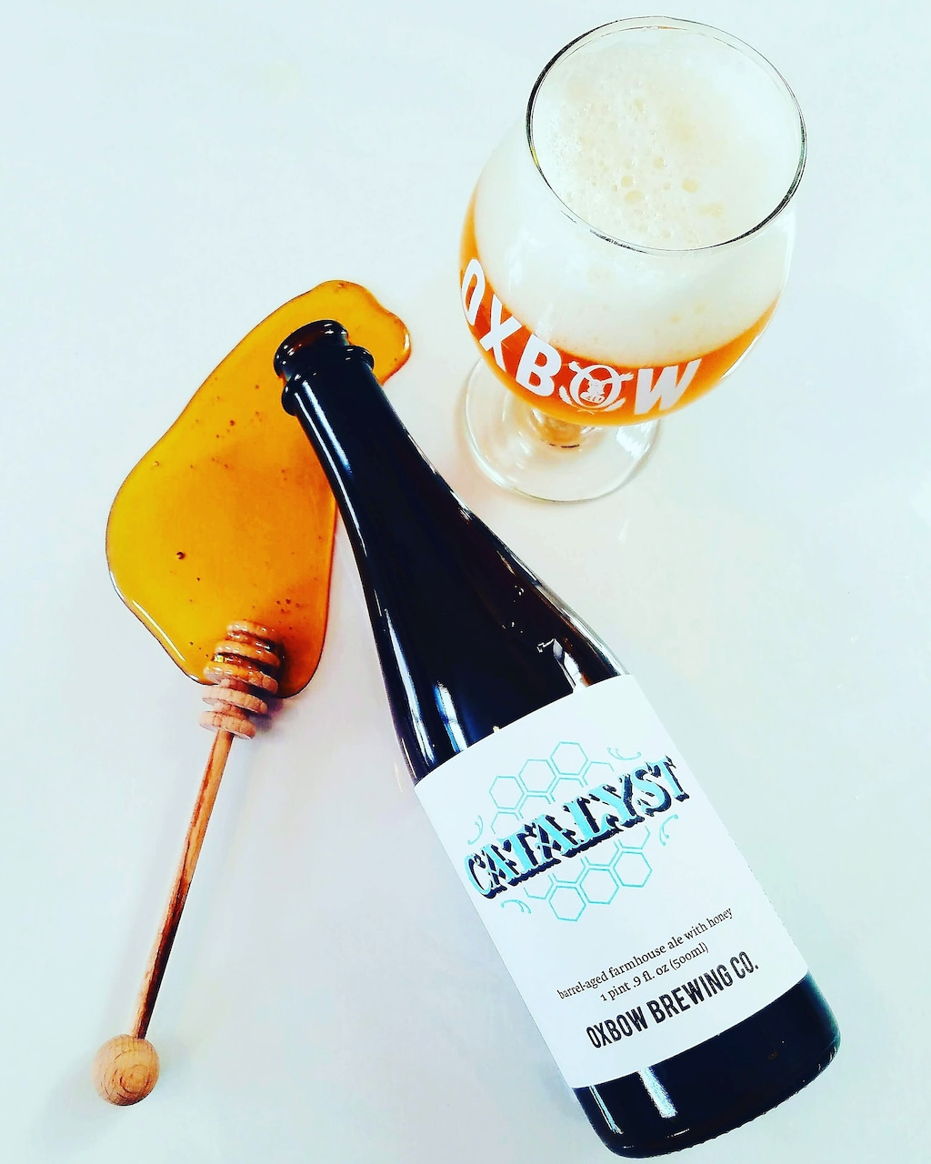 Saison Belgian Farmhouse Ale Oxbow Catalyst Farmhouse Ale Is The Beer Of The Week The