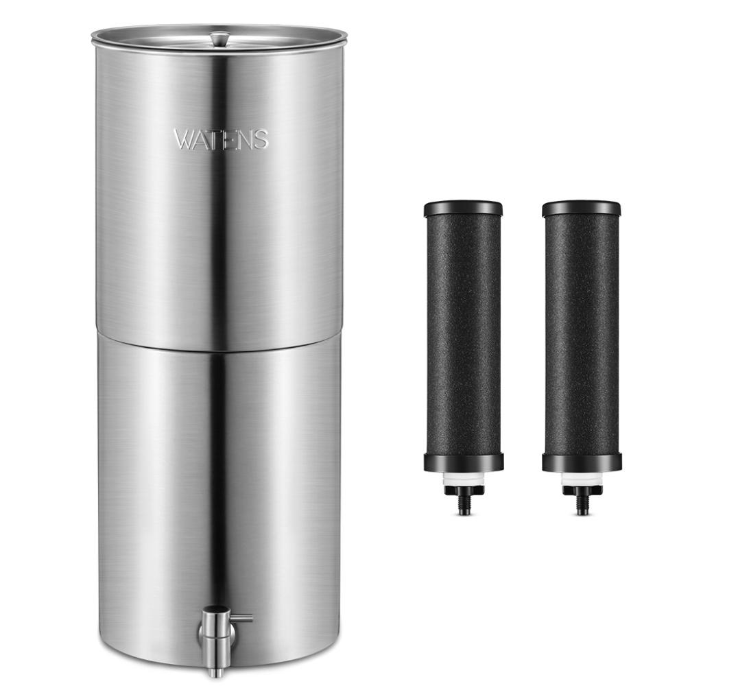 Countertop Gravity Water Filter Reviews Watens Vs Berkey Vs Propur Vs Alexapure