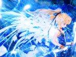 Blue Anime Angels