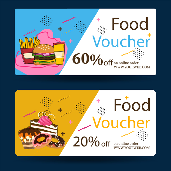 Food Voucher Template | kicksneakers.co
