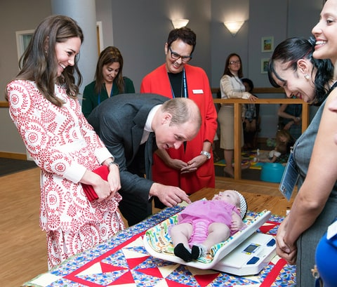 Kate Middleton Prince William baby Canada