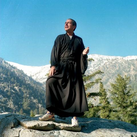 Mount Baldy, monk, Leonard Cohen