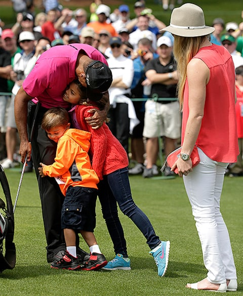 how old are tiger woods children now in 2017