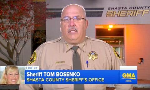 Shasta County Sheriff Tom Bosenko